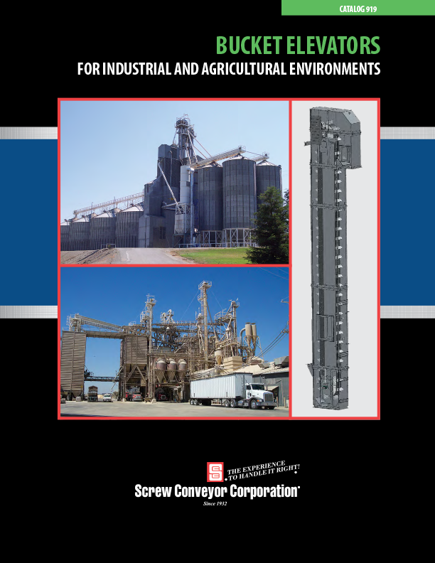 Screw Conveyor Bucket Elevators brochure